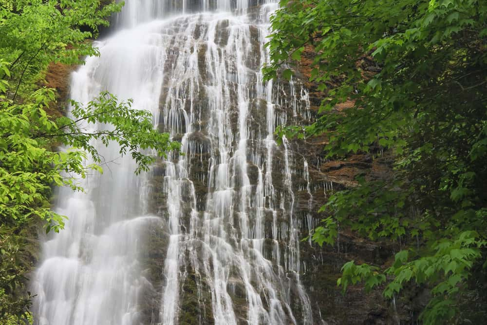Mingo Falls - best places to visit in North Carolina