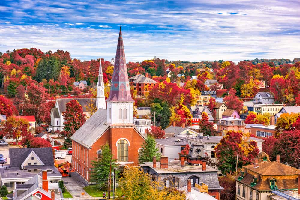 The beautiful places to visit in Vermont