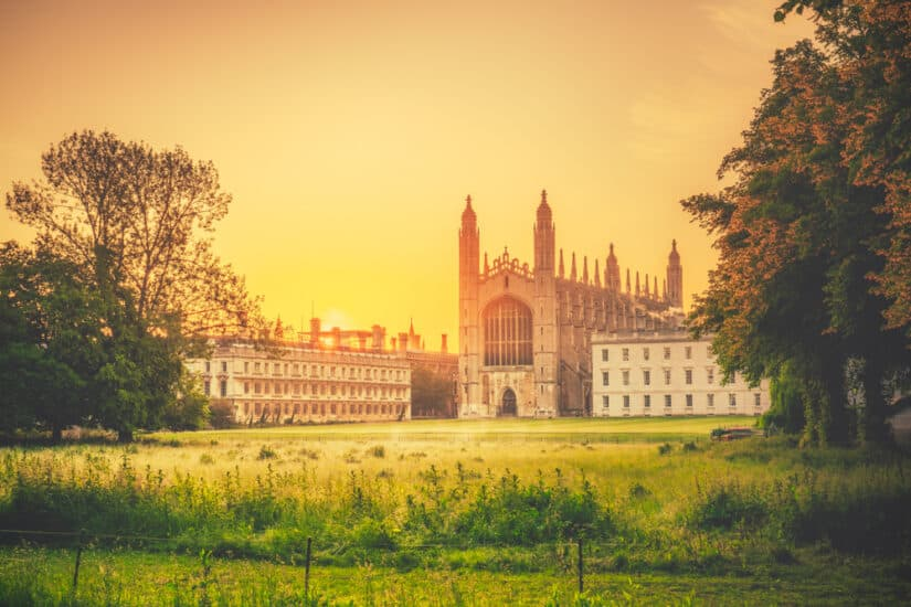 Most beautiful places to visit in Cambridgeshire