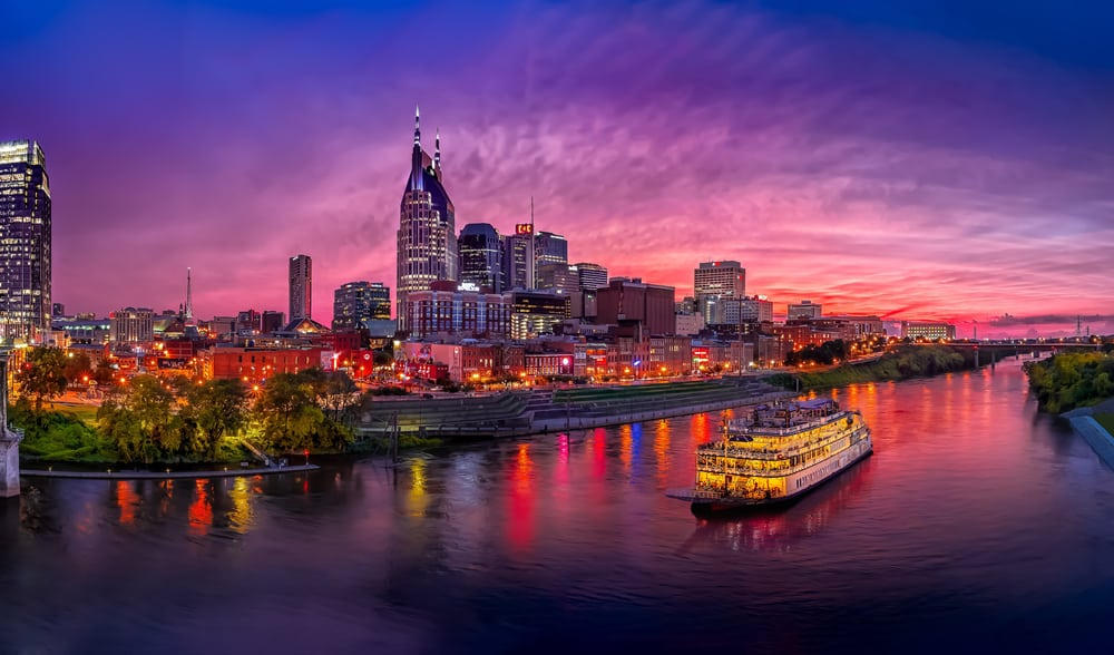 Nashville - best places to Tennessee