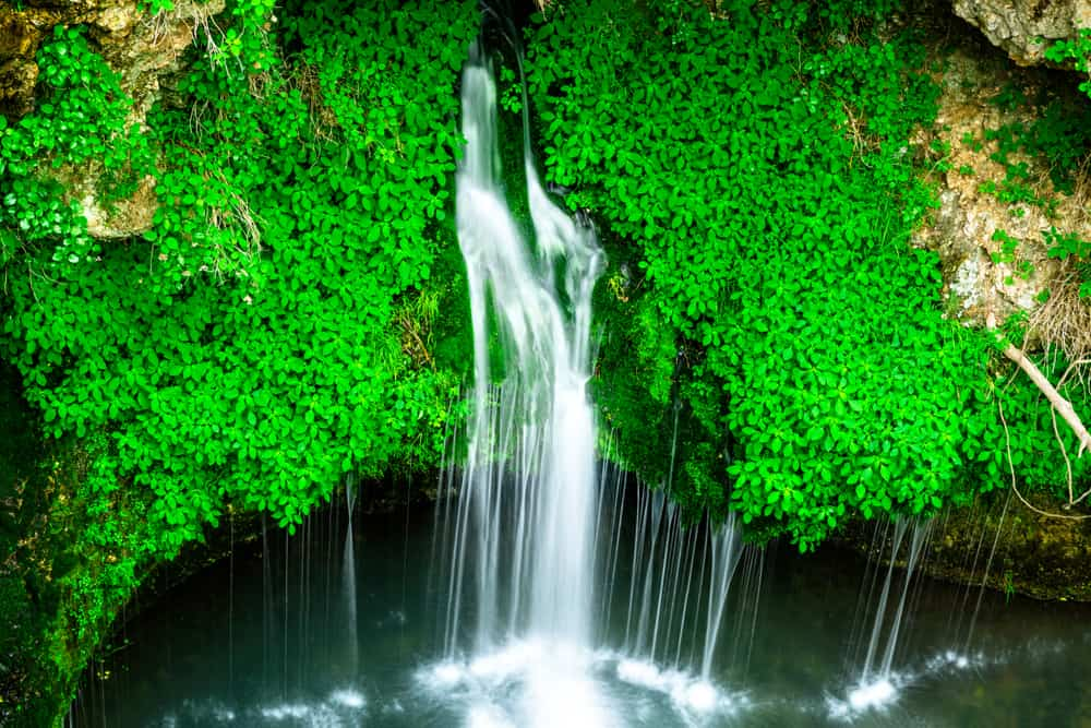 Natural Falls state park in Oklahoma