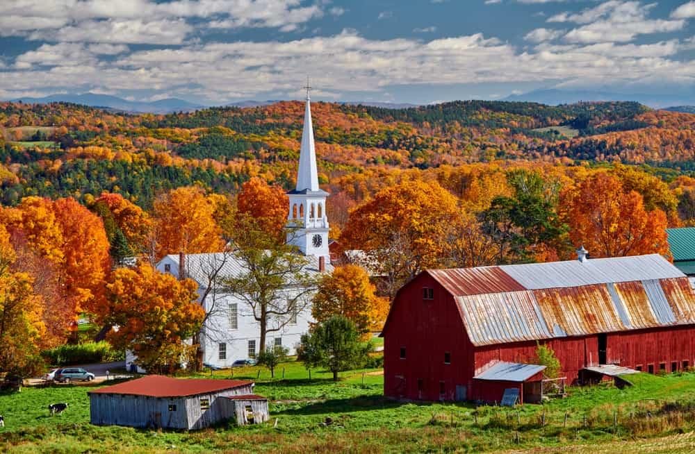 Peacham - places to explore in Vermont