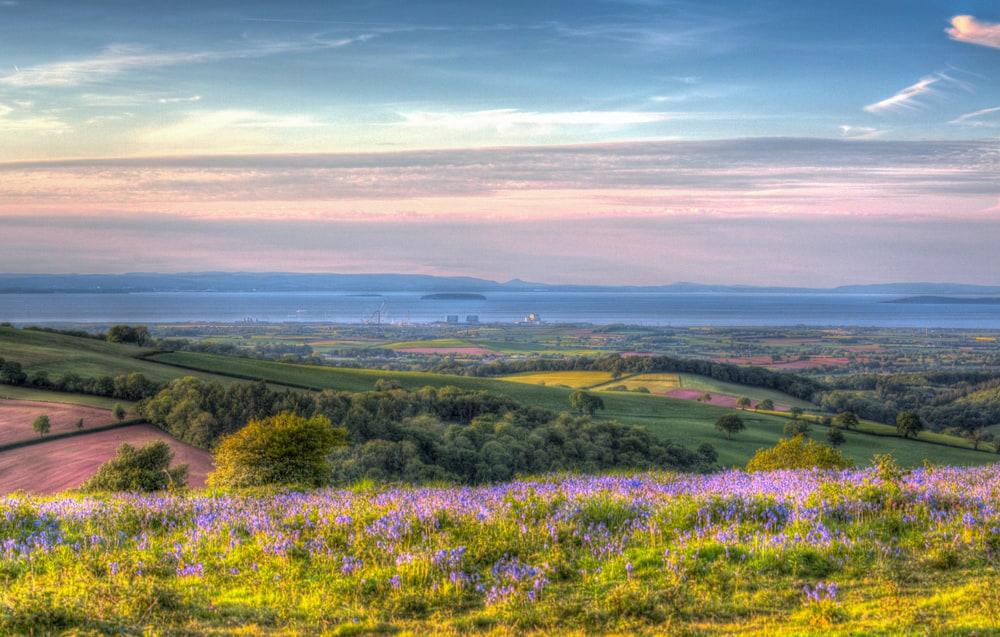Quantocks - beauty spots in Somerset