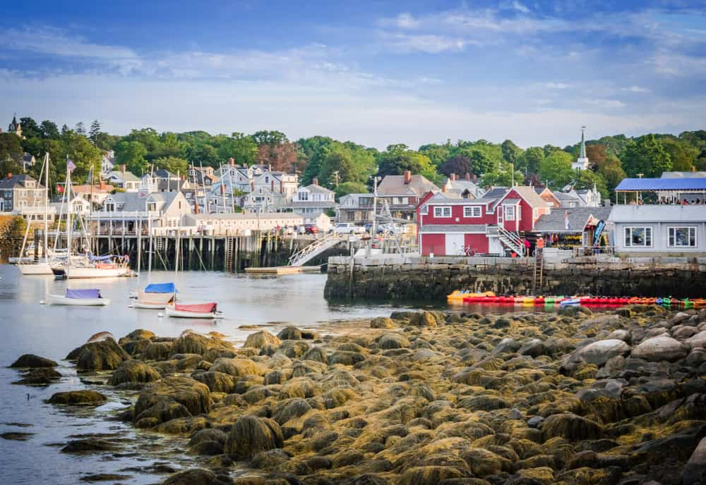 Rockport - beauty spots in Massachusetts