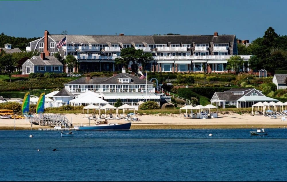 Romantic beach hotel Cape Cod