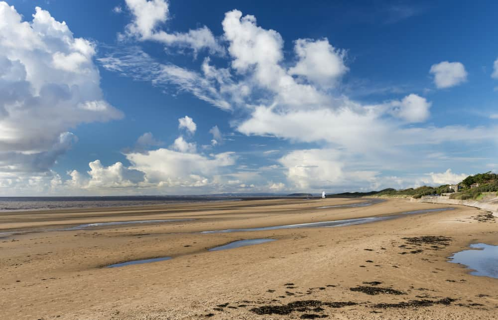 Sand Bay - beautiful places to visit in Somerset
