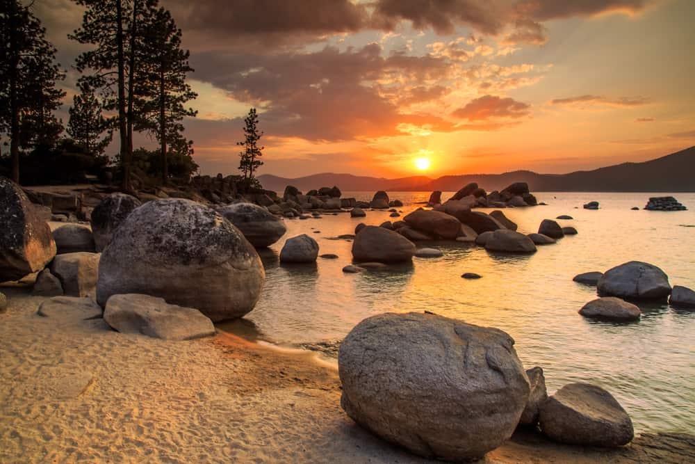 Sand Harbor - beauty spots in Nevada