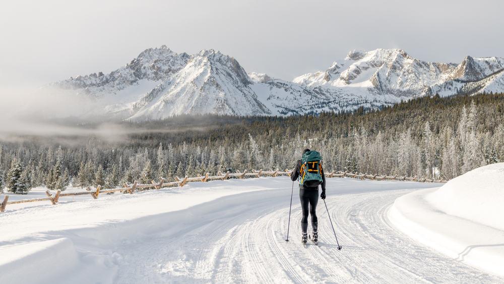 Sawtooth Range Skiing