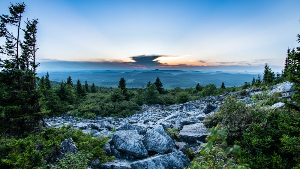 Spruce Knob - best places to visit in West Virginia
