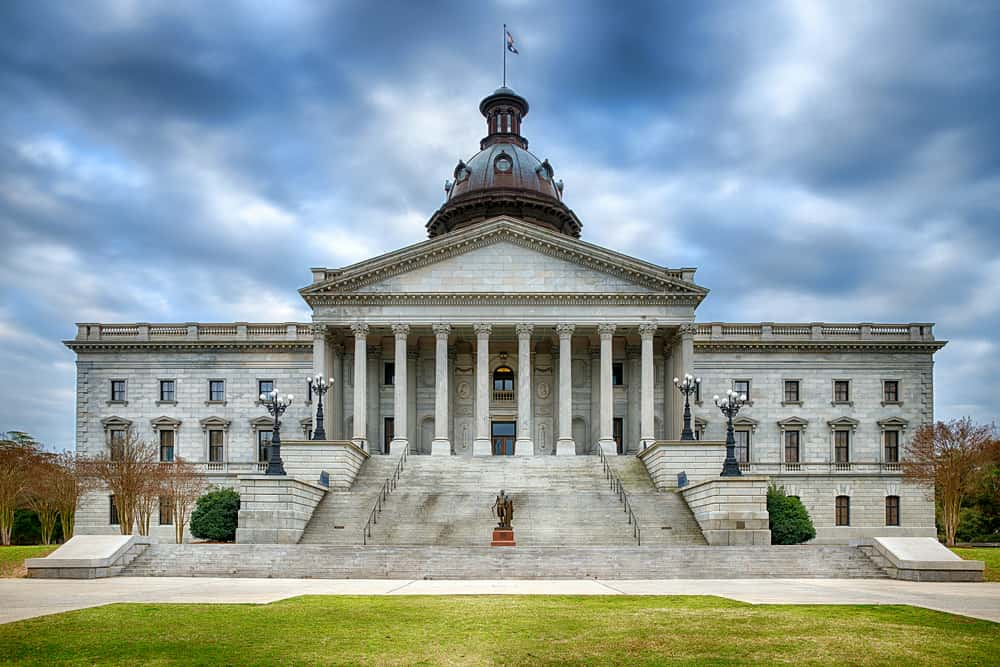 State Capitol building Columbia
