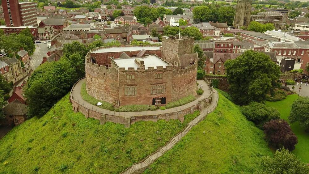 Tamworth Castle Staffordshire
