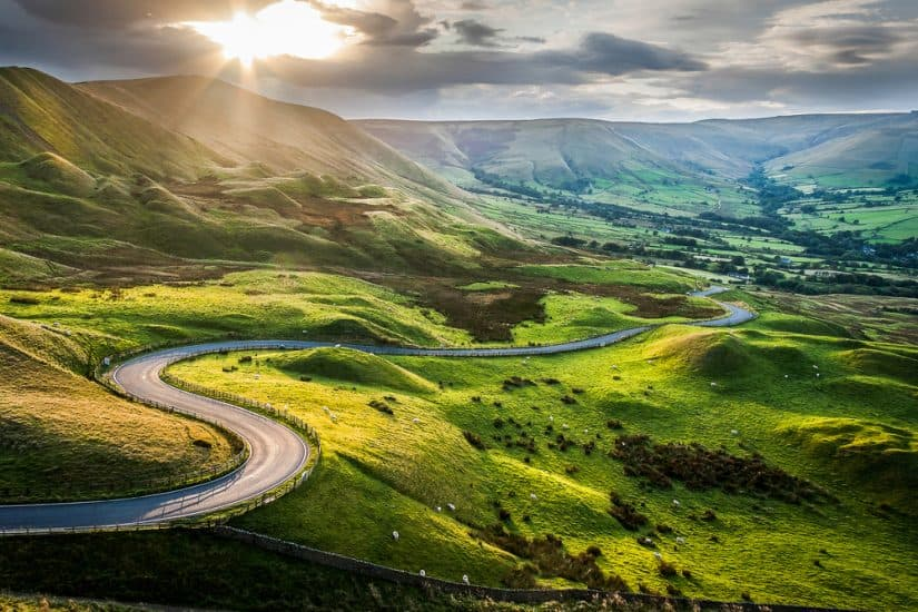 The most beautiful places to visit in Derbyshire