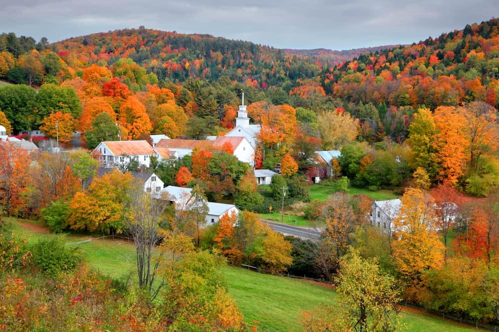 Topsham Village Vermont