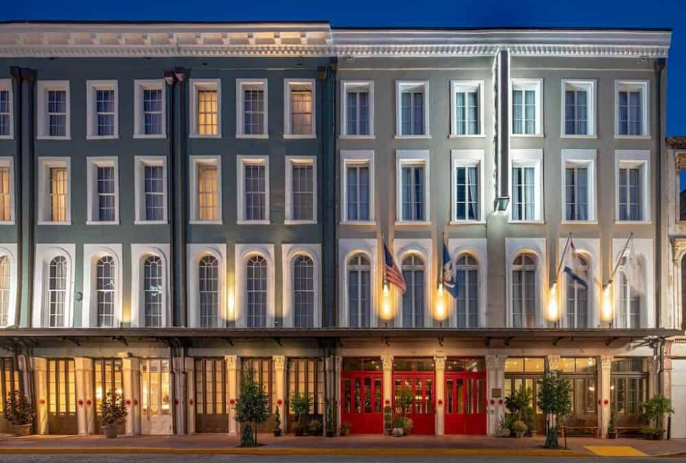 Trendy hotel in New Orleans