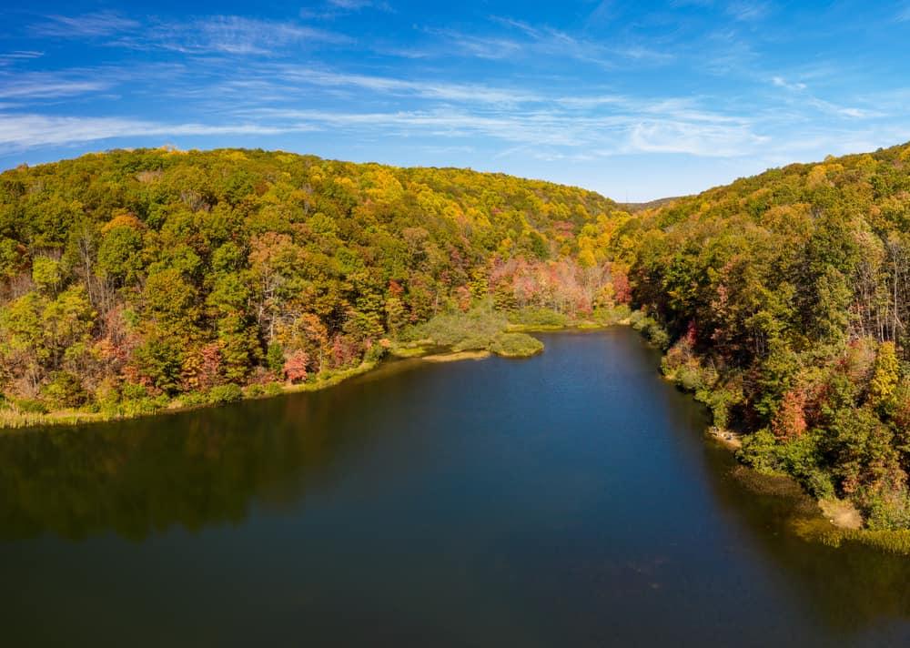 Trout Run Valley West Virginia