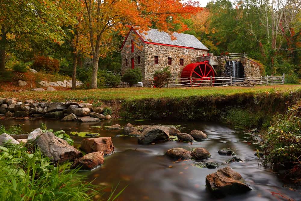 Wayside Inn Grist Mill