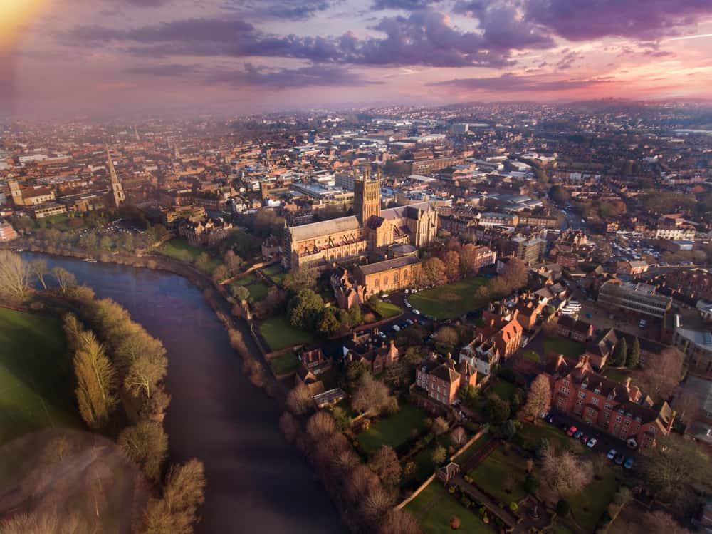 Beautiful Worcester City
