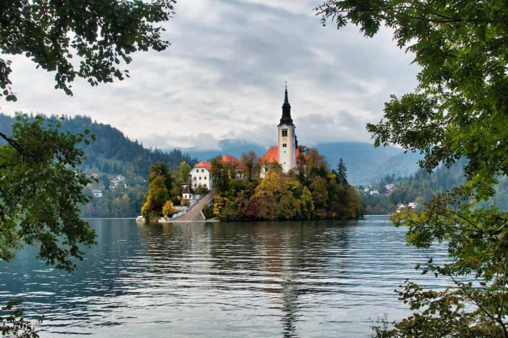 1) Lake Bled