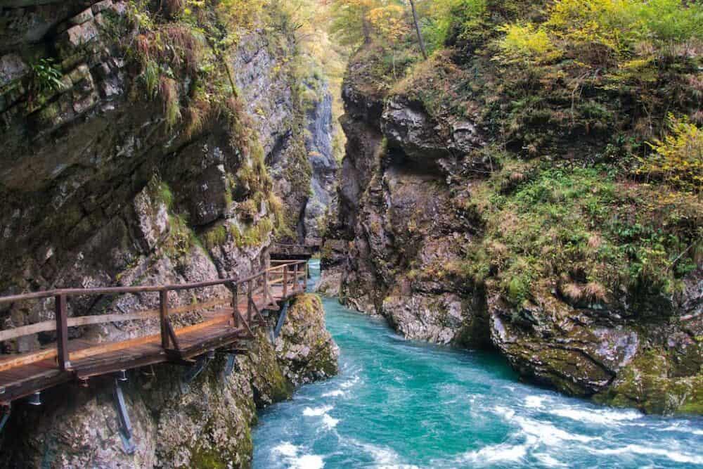 3) Vintgar Gorge 1