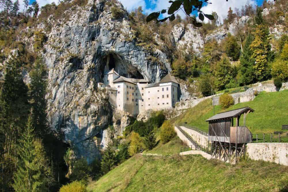 7) Predjama Castle