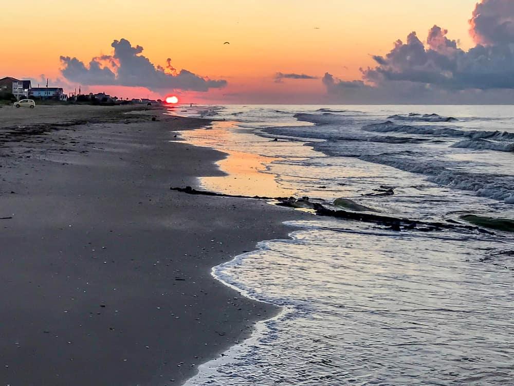 Crystal Beach, Texas - December Beach Vacation