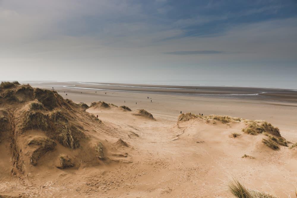 Formby Beach Merseryside