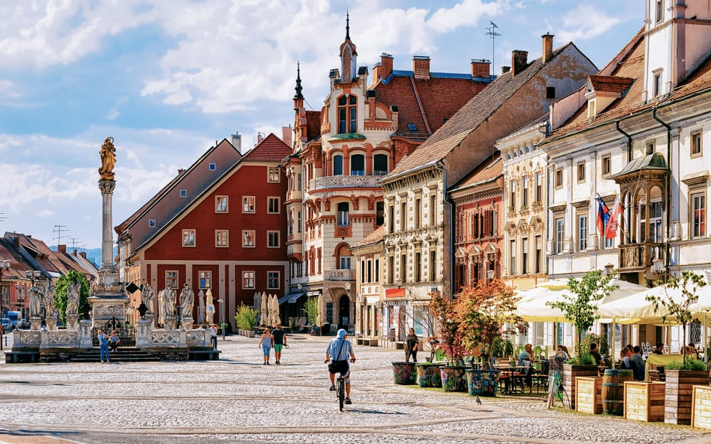 Maribor - pretty places to go in Slovenia