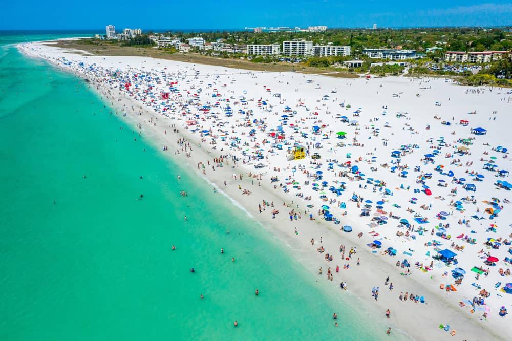 Siesta Key Florida - hot December vacations