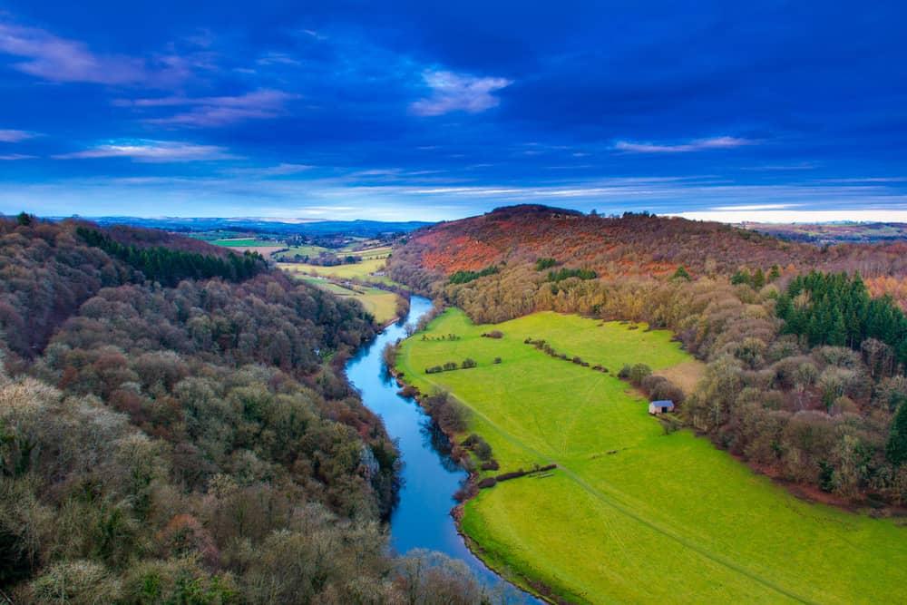 Symonds Yat Rock Gloucestershire