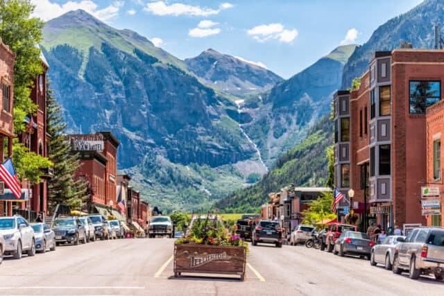Telluride Colorado summer
