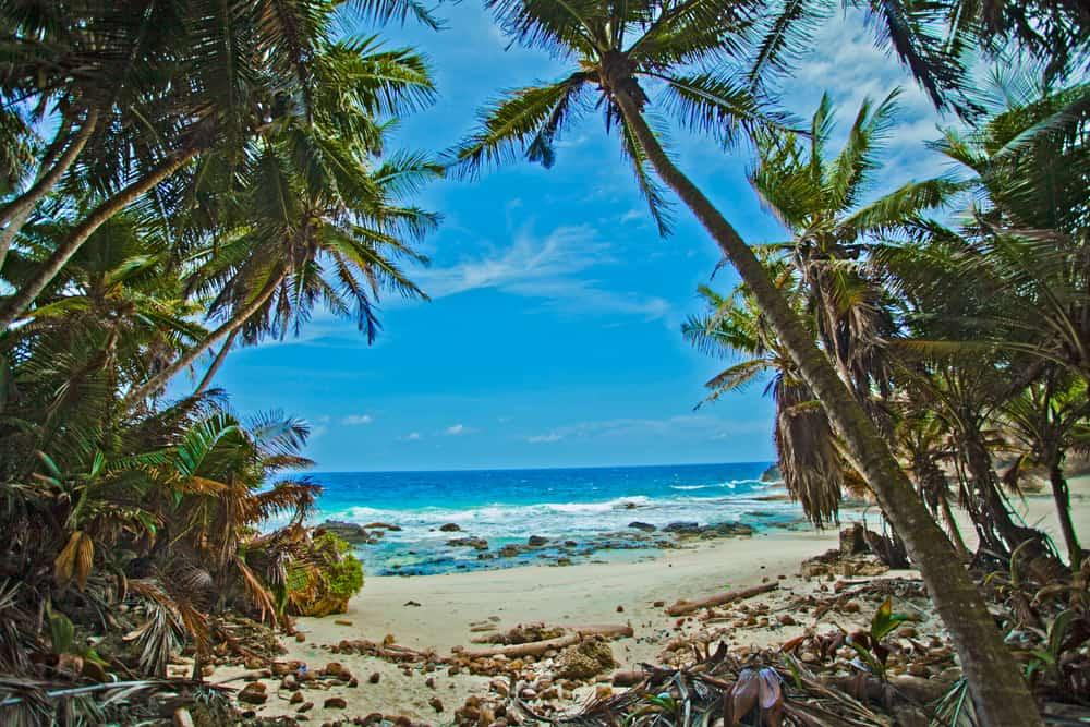 Dollys Beach Christmas Island