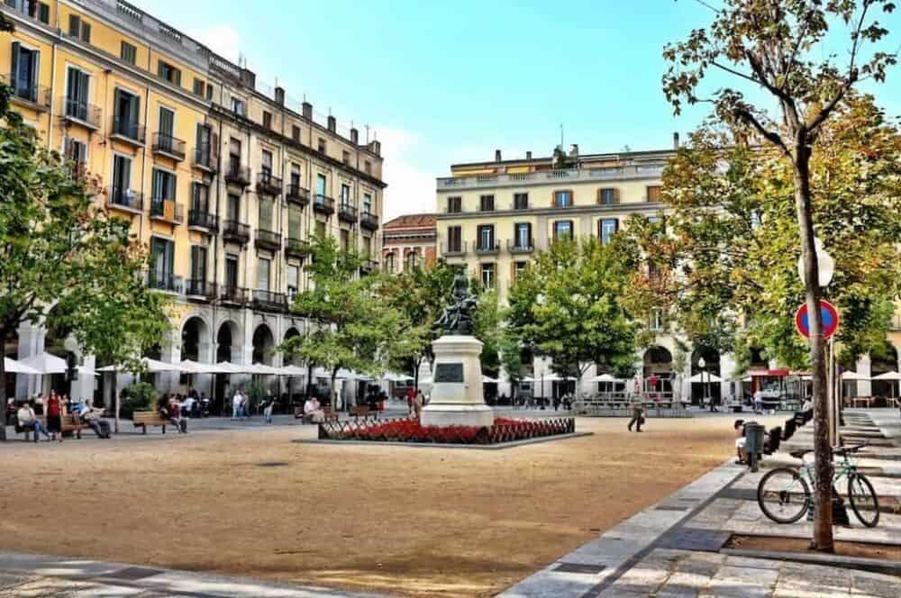 Beautiful Girona Square