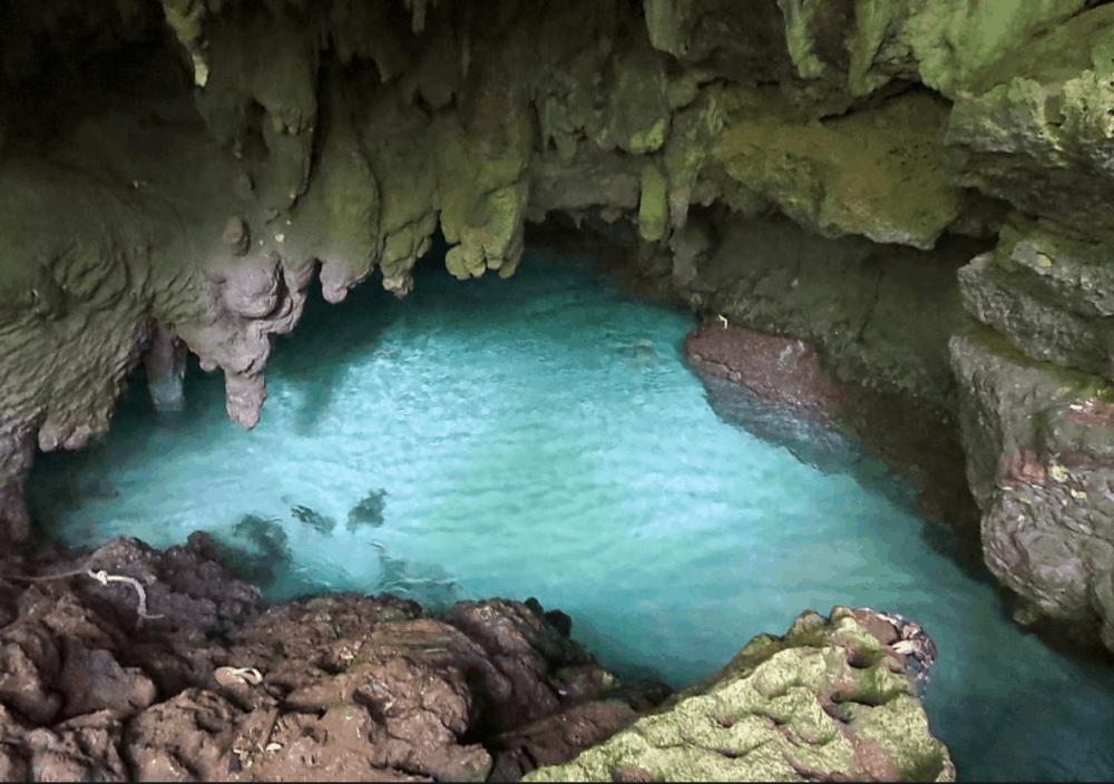 Grotto on Christmas Island