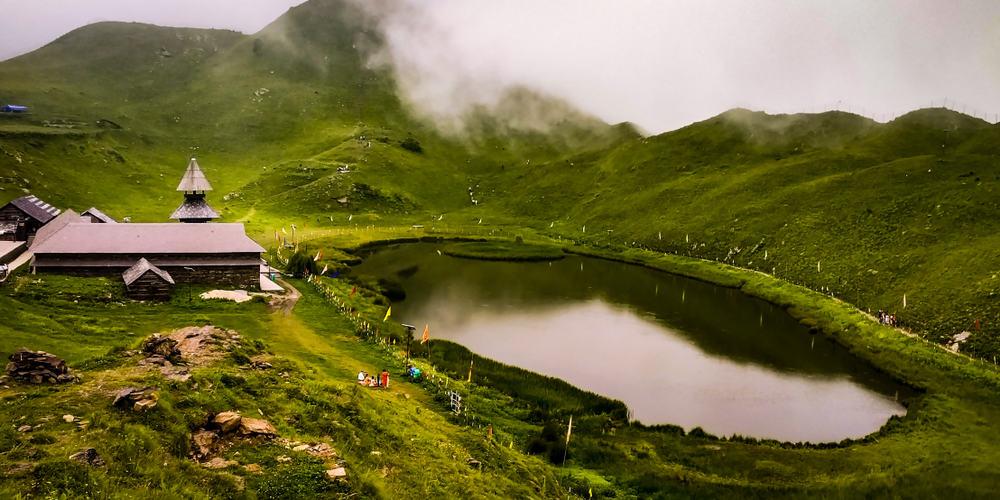 Lake Prashar India