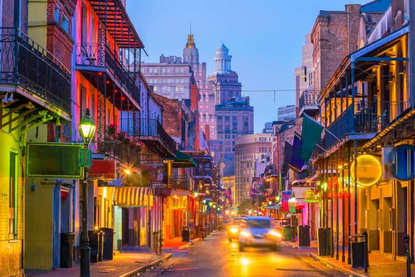 New Orleans - best places to visit in February in the USA