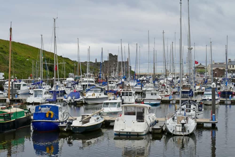 Peel Marina Isle of Man