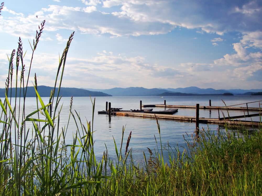 Priest Lake summer USA