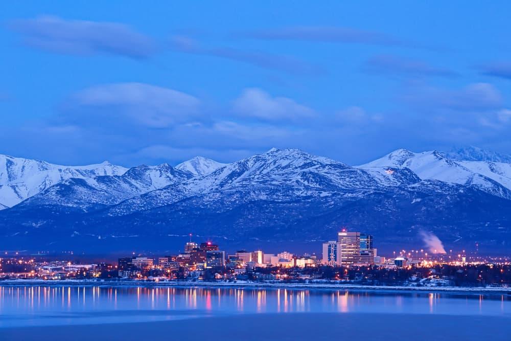 Anchorage in December
