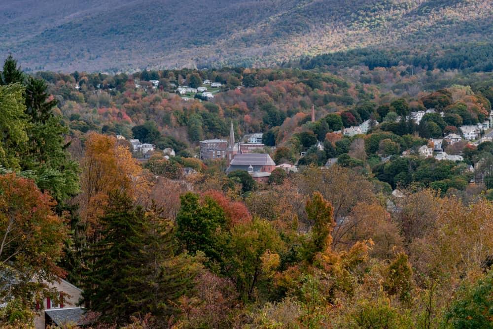 Berkshires Fall October