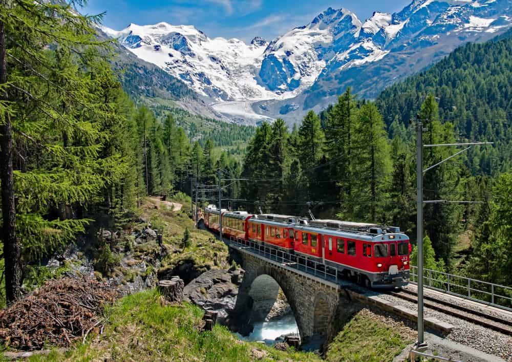 Bernina Express Europe