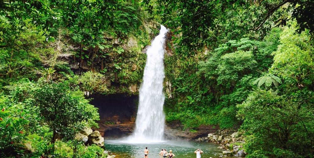 Biausevu Waterfall Fiji