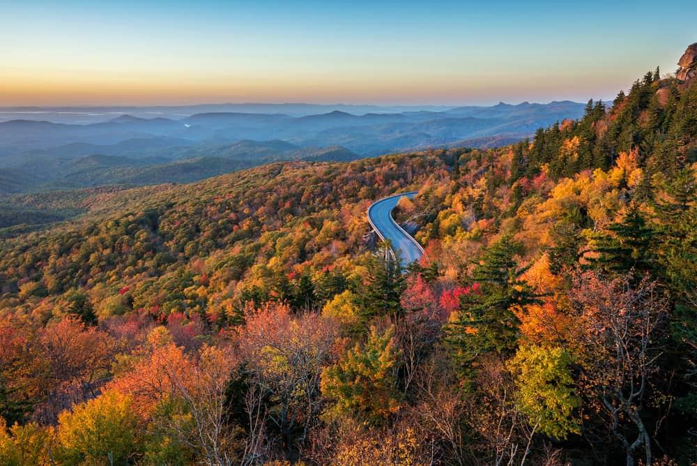 Blue Ridge Parkway Fall