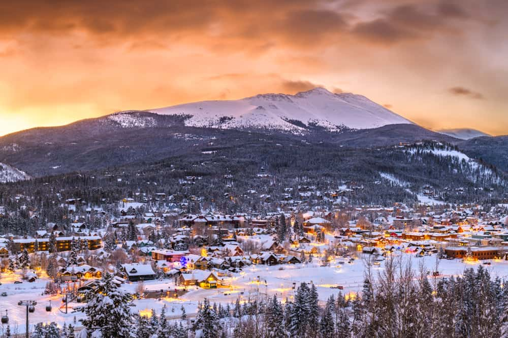 Breckenridge - best places to visit in January