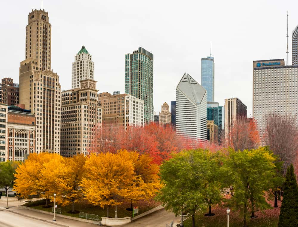 Chicago Fall - best places to visit in October