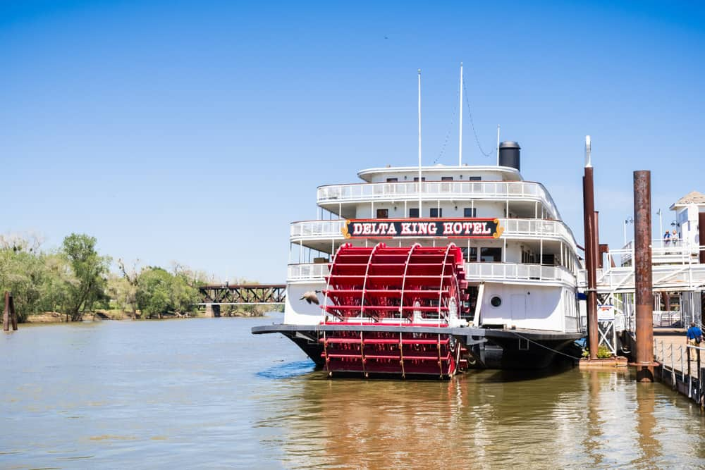 Delta King Riverboat Sacramento