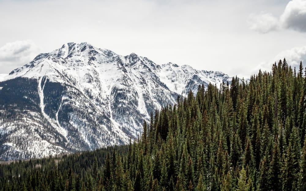 Beautiful Durango in the snow