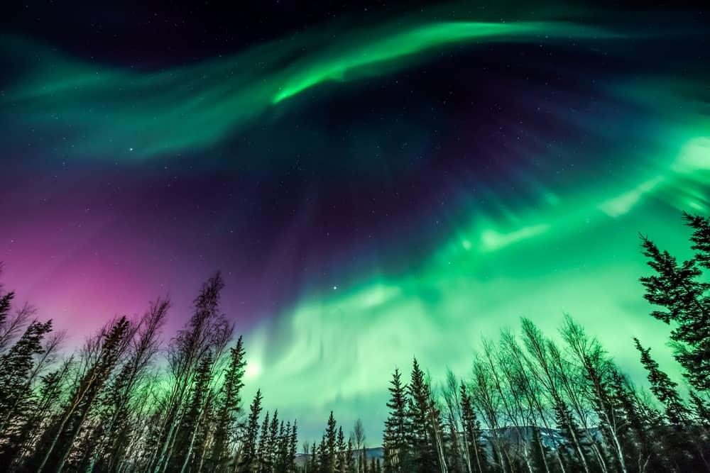 Fairbanks, Alaska in January