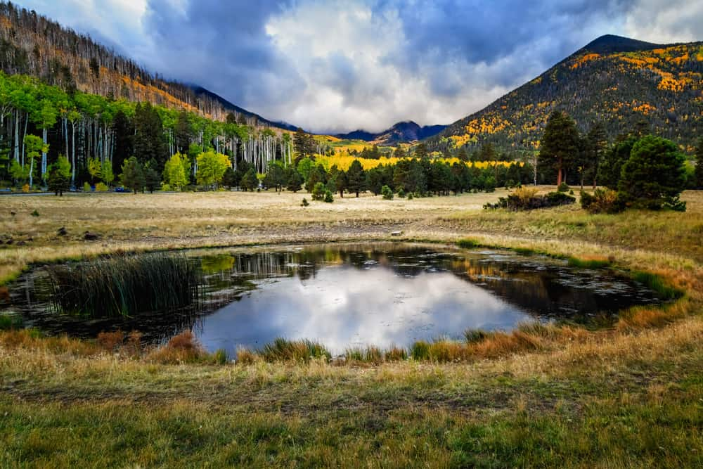 Flagstaff Arizona - places to visit in October in the USA