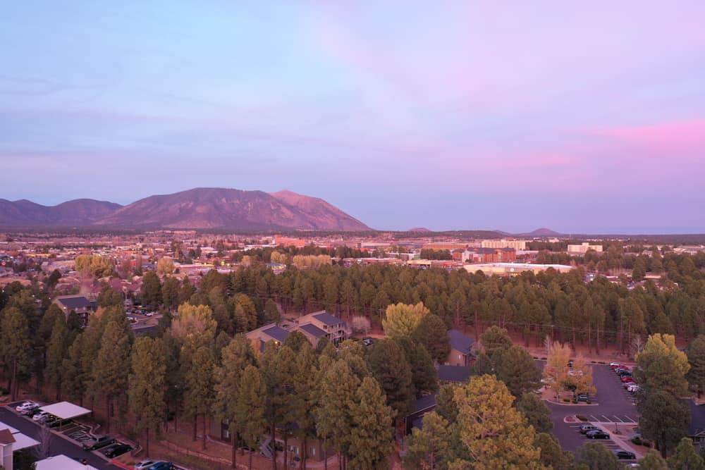 Flagstaff Arizona evening