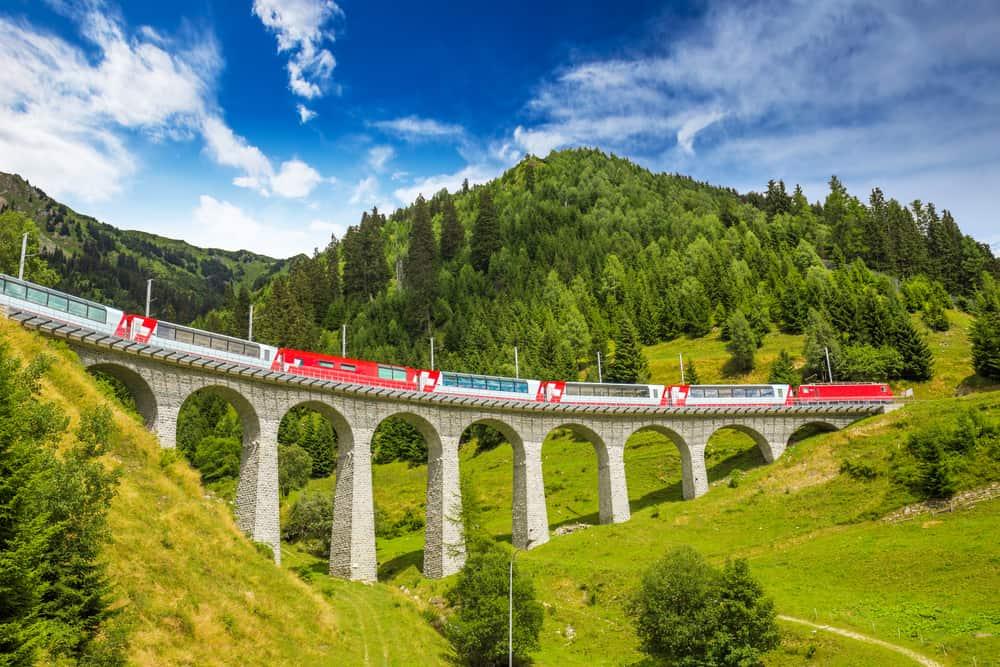 Luxury train journeys in Europe